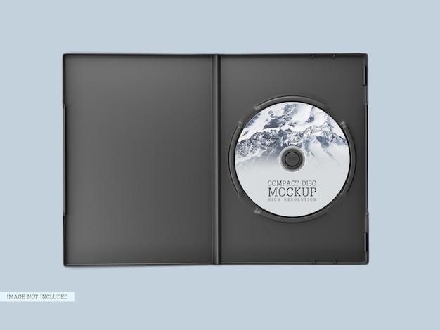Płyta kompaktowa z makietą okładki