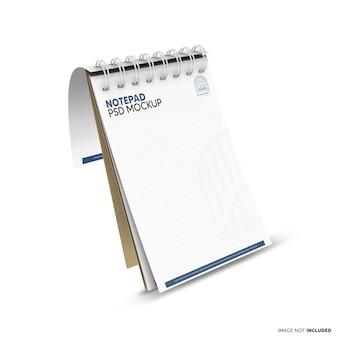Pływająca makieta notatnika