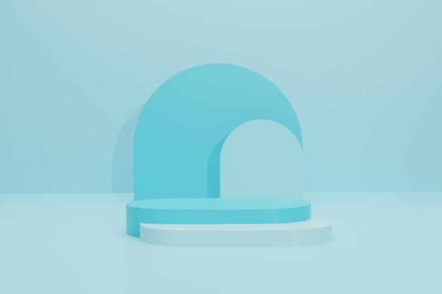Podium wyświetlania produktu 3d