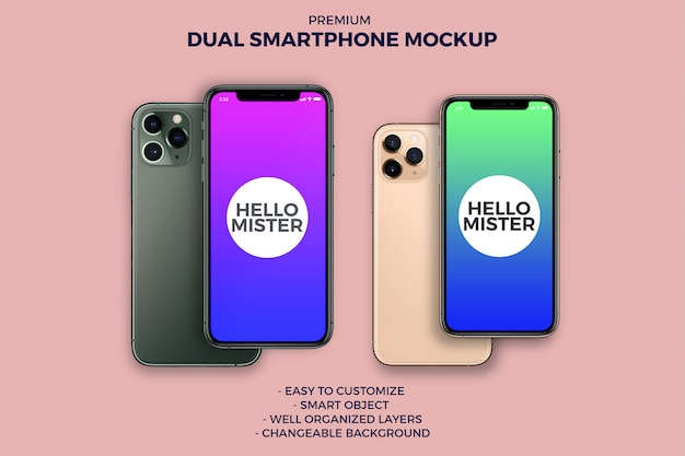 Podwójny smartfon
