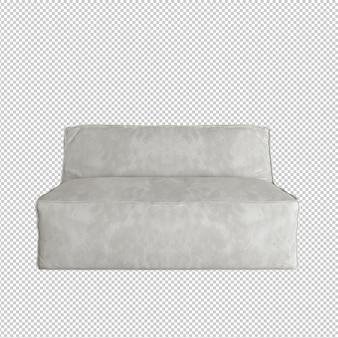 Pojedynczy fotel z trójwymiarowym wzorem tkaniny