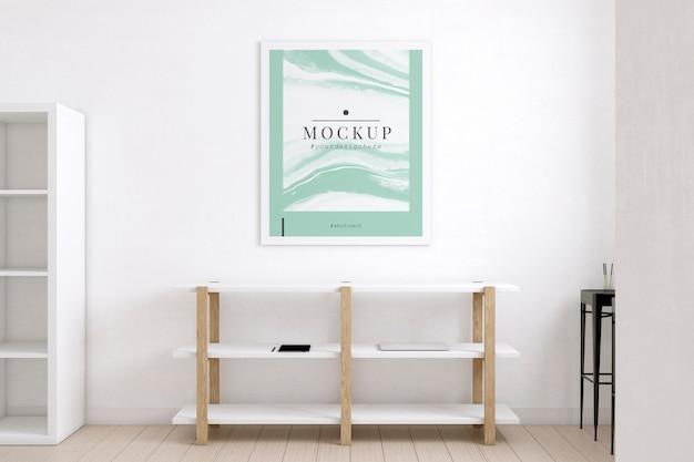 Pokój artysty urządzony