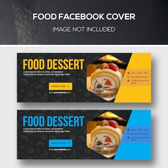 Pokrycie facebooka na temat żywności