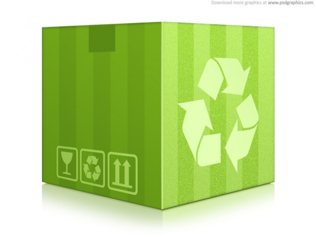 Pole recyklingu green (psd)