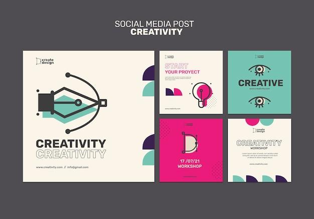 Post koncepcja kreatywności w mediach społecznościowych