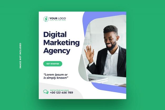 Post na instagramie marketingu cyfrowego
