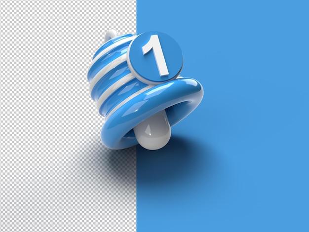 Powiadomienie — alarm dzwonka minimalnego i alarmowy element mediów społecznościowych przezroczysty plik psd.