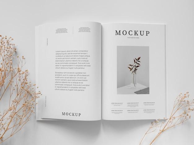 Powyżej zobacz magazyn i aranżację roślin