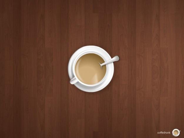 Poz kawa psd błysk