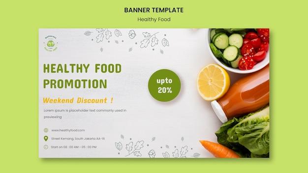Poziomy baner bezpieczeństwa żywności
