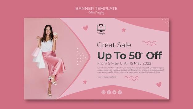Projekt banera zakupy online