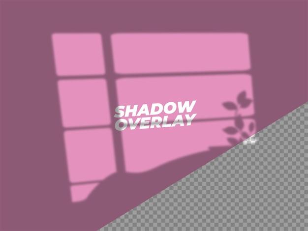 Projekt efektu nakładki cienia