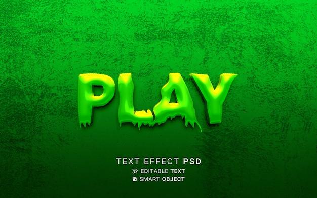Projekt gry z efektem tekstowym
