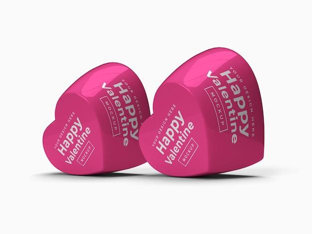 Projekt makieta kontenera valentine love heart