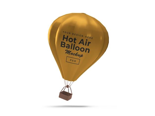 Projekt makiety 3d balon na gorące powietrze