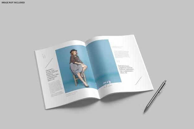 Projekt makiety bifold broszury