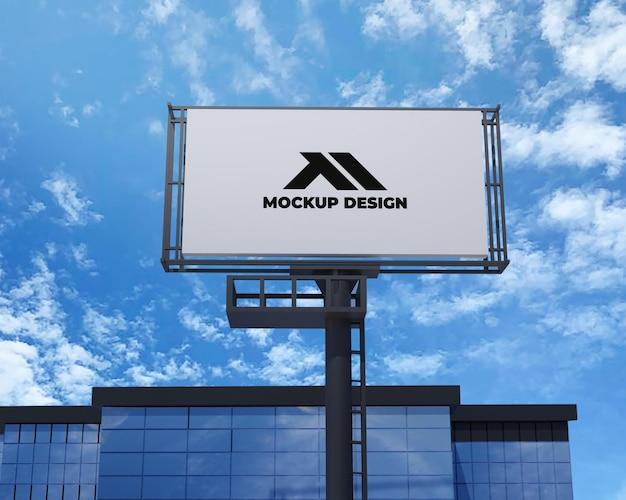 Projekt makiety billboardu