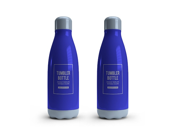 Projekt makiety butelki do picia