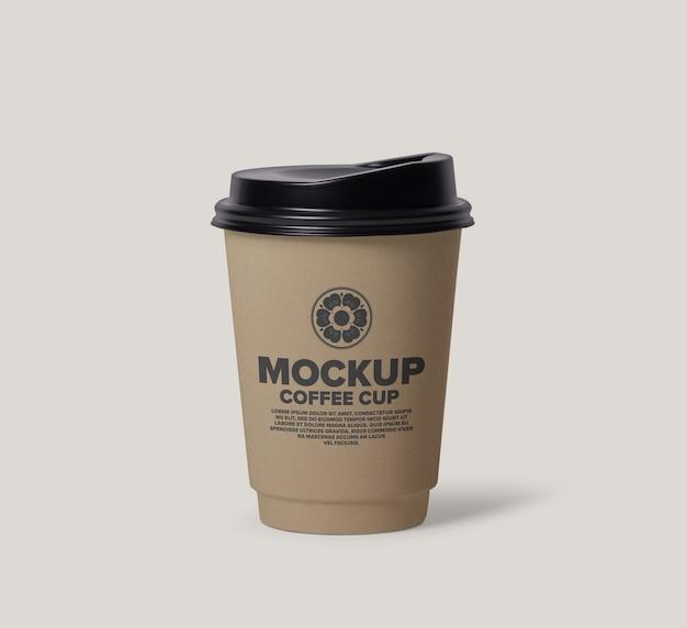 Projekt makiety filiżanki kawy
