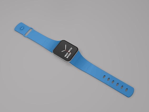 Projekt makiety inteligentnego zegarka psd