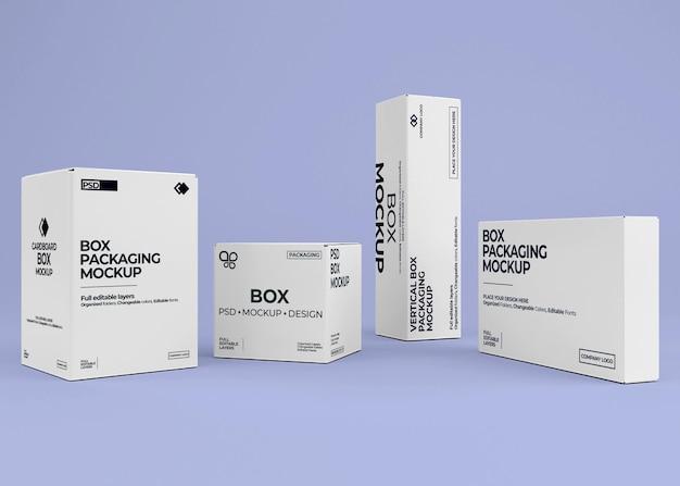 Projekt makiety kolekcji pudełkowej