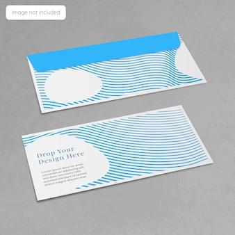 Projekt makiety koperty