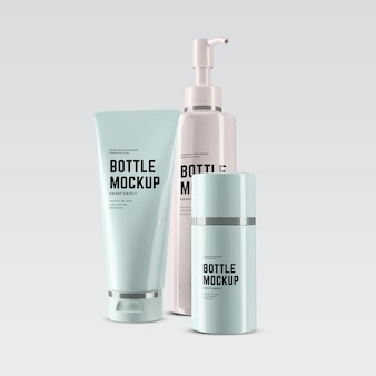 Projekt makiety kosmetycznych tubek