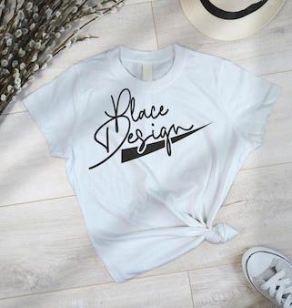 Projekt makiety koszulki