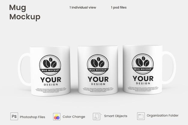 Projekt makiety kubka do kawy
