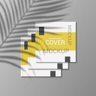 Projekt makiety kwadratowej okładki książki