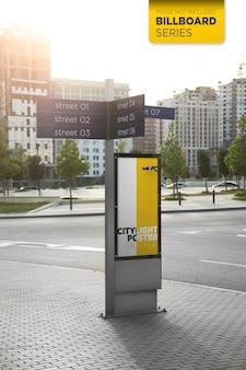 Projekt makiety lightbox miasta