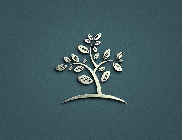 Projekt makiety luksusowego logo