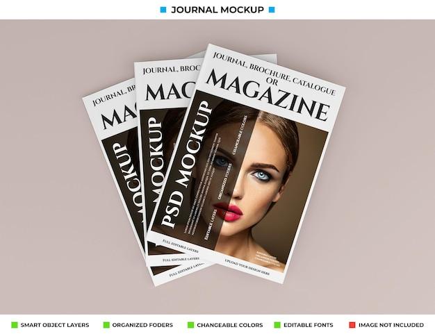 Projekt makiety magazynu, czasopisma lub katalogu