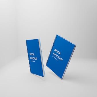 Projekt makiety notatnika w twardej okładce