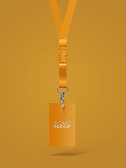 Projekt makiety posiadacza karty identyfikacyjnej z przodu