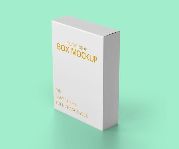 Projekt makiety pudełka dla biznesu