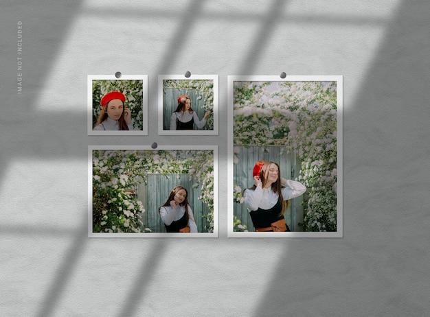 Projekt makiety ramki na zdjęcia