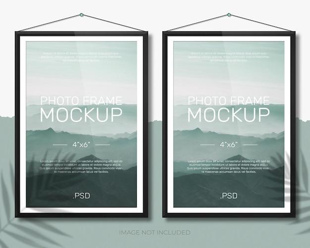 Projekt Makiety Ramki Na Zdjęcia Premium Psd