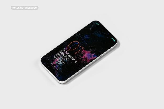 Projekt makiety smartfona w renderowaniu 3d