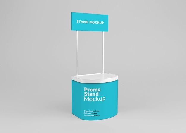 Projekt makiety stoiska promocyjnego