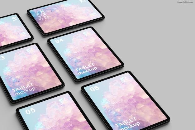Projekt makiety tabletu w renderowaniu 3d