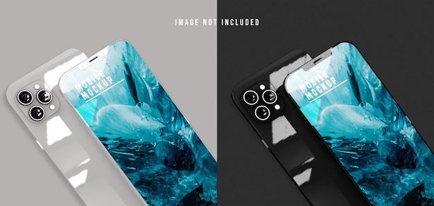 Projekt makiety telefonu komórkowego psd