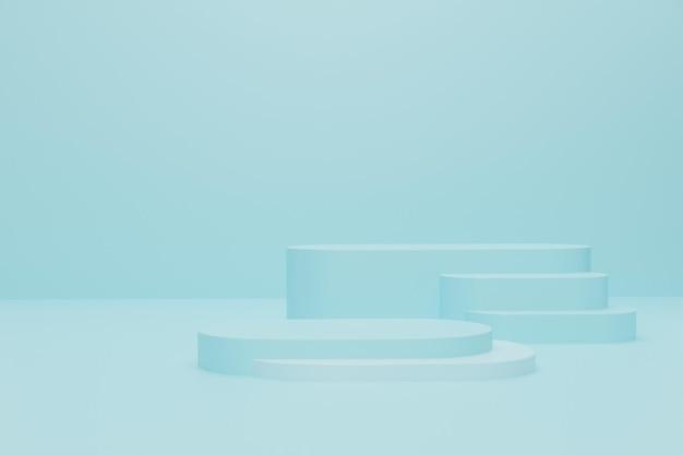 Projekt podium renderowania 3d