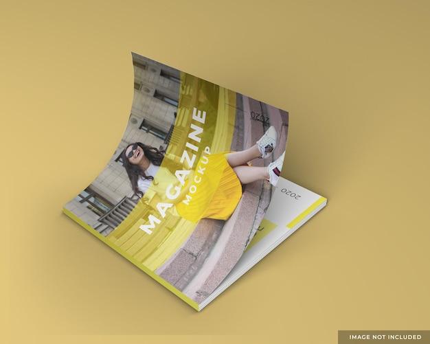Projekt szablonu makieta magazynu kwadratowego