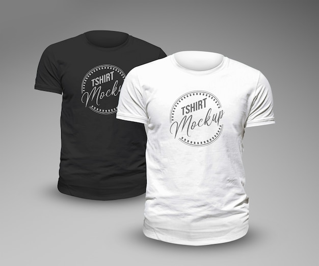 Projekt szablonu makiety koszulki