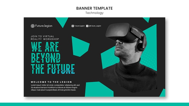 Projekt szablonu transparentu technologii