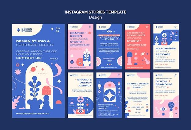 Projektowanie graficzne opowiadań na instagramie