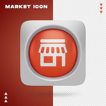 Projektowanie ikon rynkowych w renderowaniu 3d