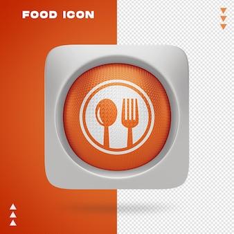 Projektowanie ikon żywności w renderowaniu 3d