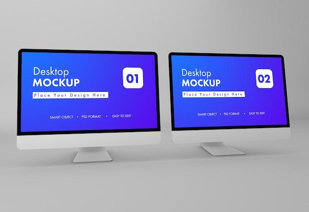 Projektowanie makiet pulpitu w renderowaniu 3d
